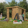 Outdoor Shabby Shack with Standard Delivery  small