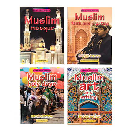 Muslim Faith Books 4pk  large