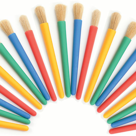 Chubby Paint Brushes 20pk  large