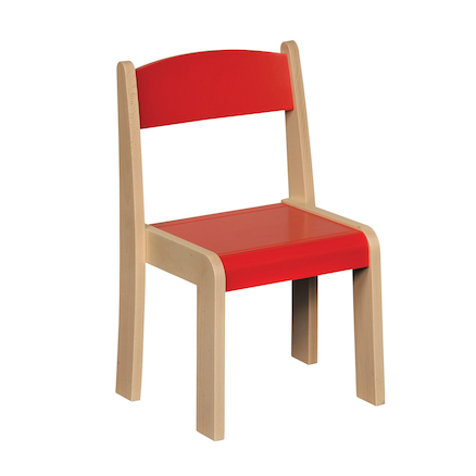 Solid Beech Stackable Chairs 4pk  large