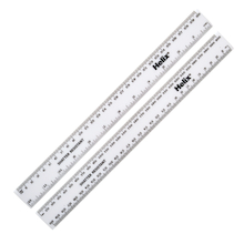 White Rulers 30cm/12'' 100pk  medium