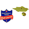 Headteachers Award Enamel Badges 20pk  small