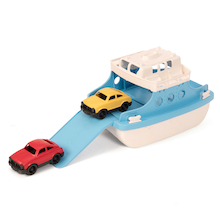 Ferry Boat with Cars  medium
