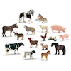 Farm Animals and their Young 14pcs  small