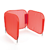 Pop\-Up Desk Red Concentration Barrier 5pk  small
