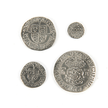 Historical Tudor Coins 4pk  medium