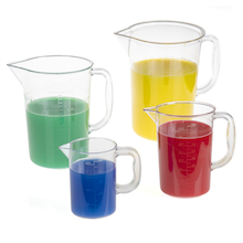 Clear Plastic Jug Set 4pk  medium
