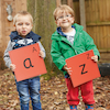 Outdoor Alphabet Mats  small