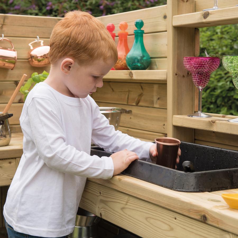 Outdoor Kitchen Units Uk: Buy Outdoor Wooden Corner Kitchen Unit