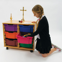 Religious Artefacts Storage Trolley  medium