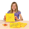 Double\-Sided Stackable Isometric Geoboard  small