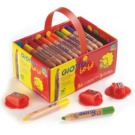 Giotto Bebe Colouring Pencils Assorted 36pk  large