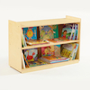 Deep Shelf Wooden Bookcase  small