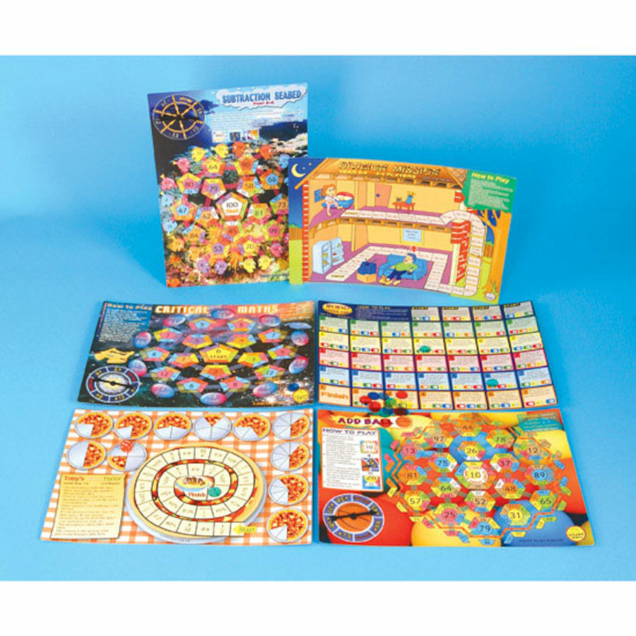 Buy Yr 5-6 Maths Board Game Pack 2 | TTS