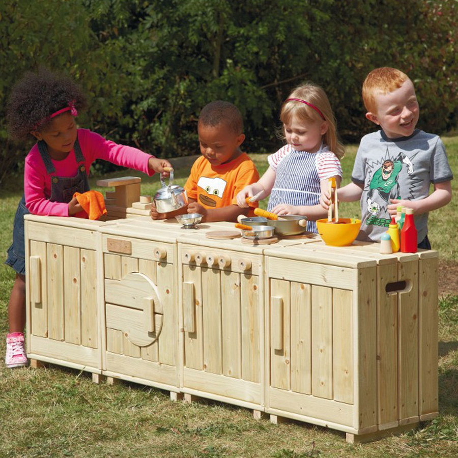 Buy The Outdoor Wooden Role Play Kitchen Tts