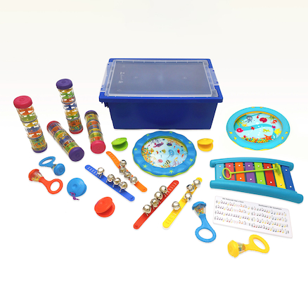 Music Percussion Class Pack 19pk  large