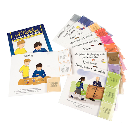 Social Situation Card Games 10pk  large
