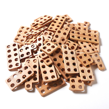 TTS Wooden Number Frames 80pcs  medium