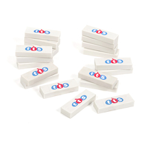 TTS White Erasers  medium