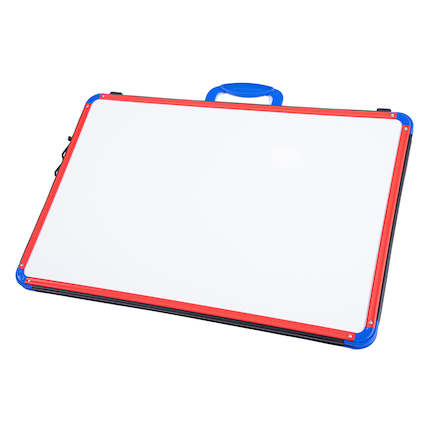 A2 Dry Wipe Magnetic Folding Board  large