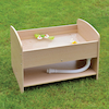 Outdoor Wooden Sand and Water Tray  small