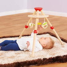 Tripod Wooden Baby Gym  medium