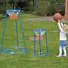 Outdoor Twin Hoop Basketball Stand  small