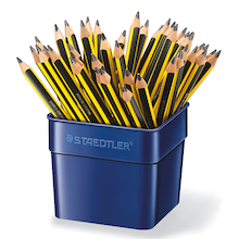 Staedtler Triplus Chunky Triangular Pencils 48pk  medium