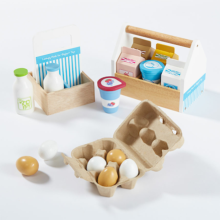 Role Play Wooden Dairy Food  large