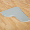 Wipe Clean PVC Corner Mat  small