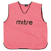 Mitre High Visibility Training Bibs Medium Pink  small