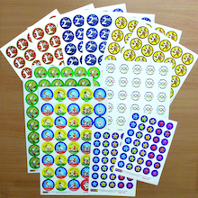 Assorted PE and Sports Day Stickers 315pk  medium