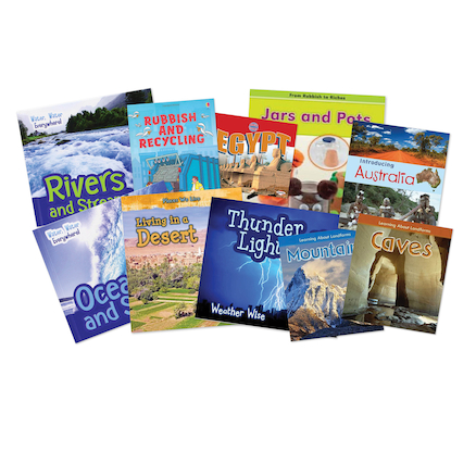 KS1 Geography Book Pack  large