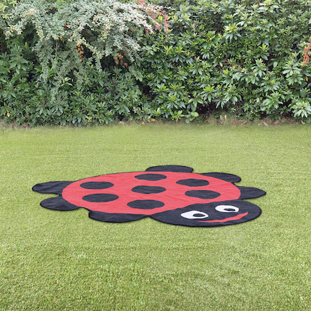 Back to Nature Outdoor Ladybird Shaped Mat  large