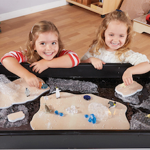 Foam Floating Islands for Water Tables  medium