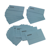 Mediumweight A4+ Document Wallets 50pk Blue  small