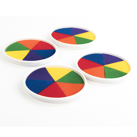 Rainbow Ink Pads  large