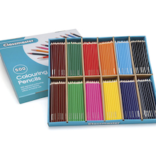 Stockroom Box Colouring Pencils Assorted 500pk  medium