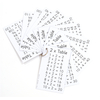 Multiplication Times Tables Keyrings  small