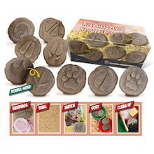 Farmyard Footprints Discovery Stones 8pk  medium