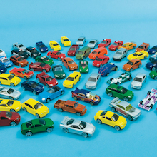Small World Die Cast Car Set 75pcs  medium