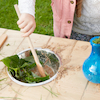 Outdoor Messy Activity Wooden Table  small