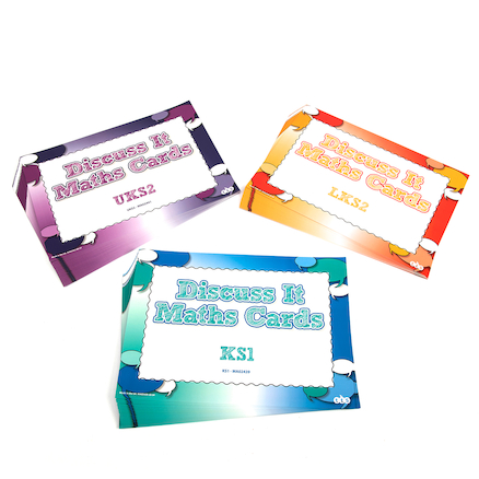 Discuss It Maths Mats 26pk  large