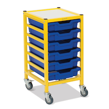 Gratnells Yellow Frame Unit  medium