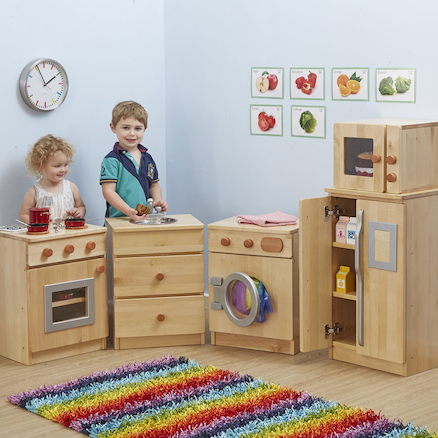 Hardwood Role Play Kitchen Buy all and Save  large