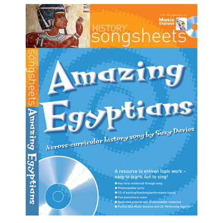 History Songsheets Book and CD  large