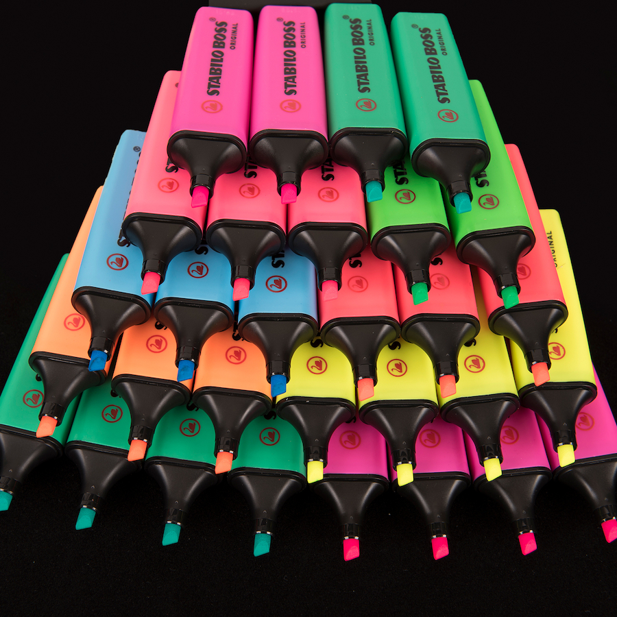 Buy Stabilo Boss 174 Highlighter Pens Tts
