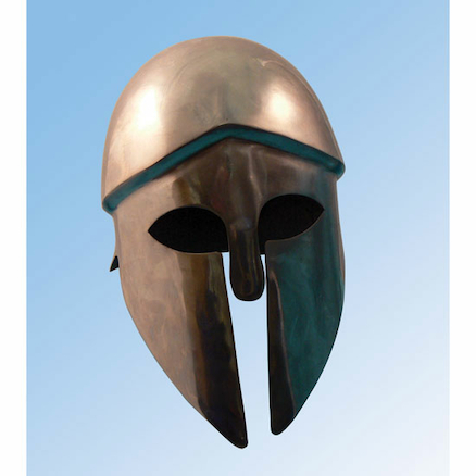 Child Size Steel Corinthian Helmet  large