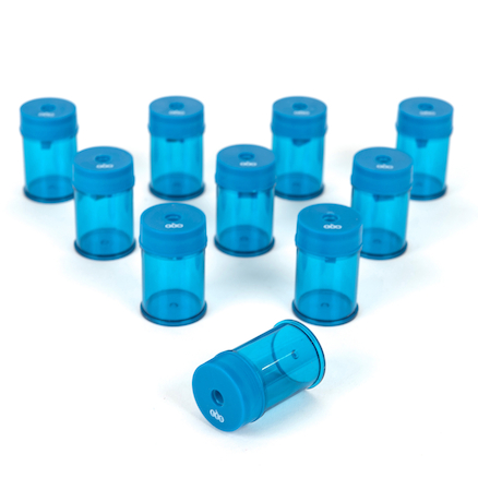 TTS Canister Pencil Sharpeners 10pk  large