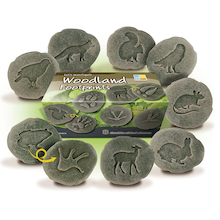 Woodland Footprints Discovery Stones 8pk  medium